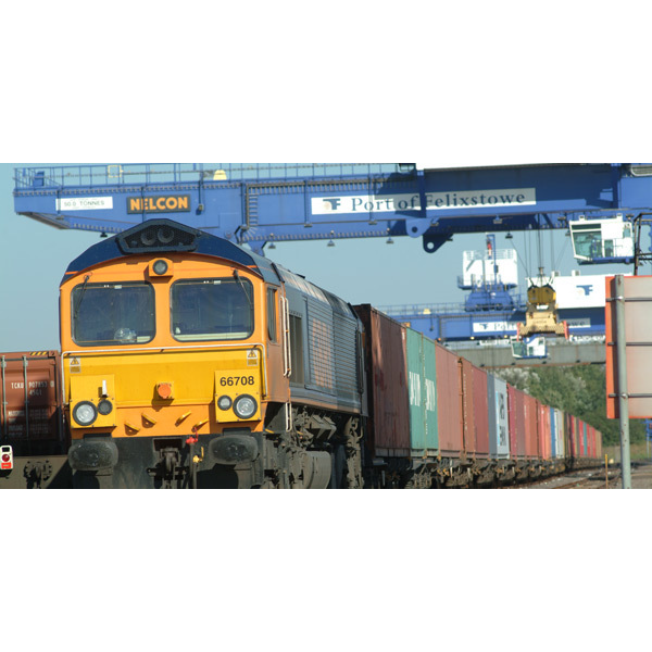 Freight Train at Felixstowe