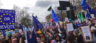 Peoples Vote March, London, March 23rd 2019