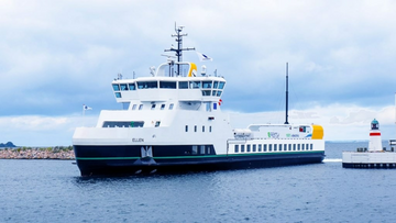 Ellen All-Electric Ferry in Denmark
