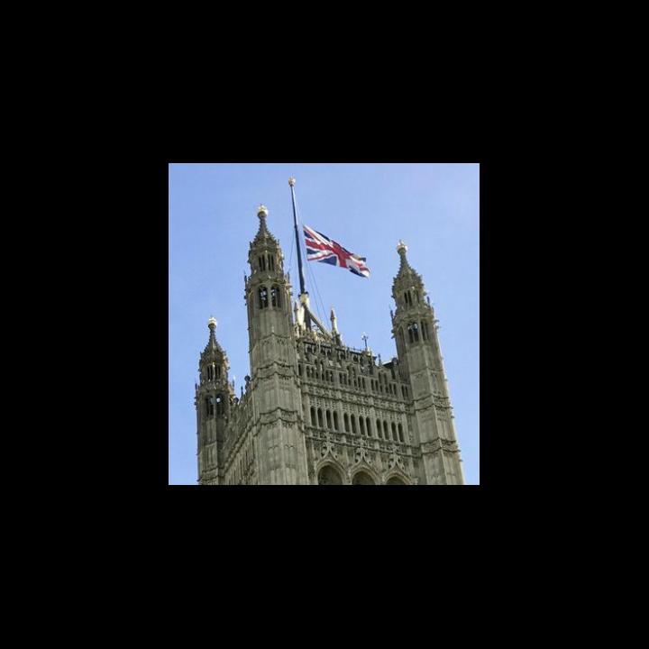 Flag at Half Mast Cropped